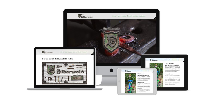 Corporate Design - Website - Der Silberwald