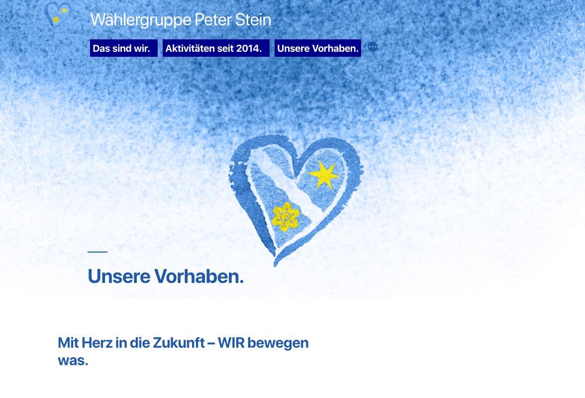 Offenbach-Hundheim - Wählergruppe Peter Stein - Gemeinderatswahl 2019